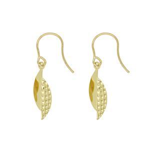 9 Carat Yellow Gold Earrings