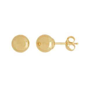 <p>6mm Ball Stud Earrings</p>