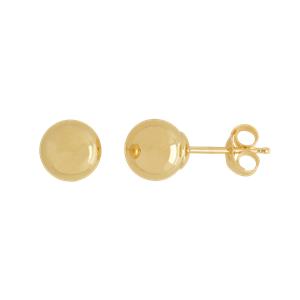 <p>6mm Ball Stud Earrings</p>