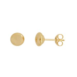 <p>5mm Flat Stud Earrings</p>