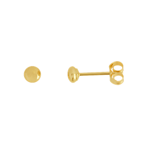 <p>3mm Flat Stud Earrings</p>