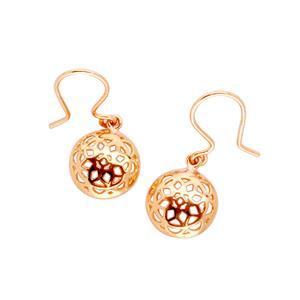 9 Carat Rose Gold Earrings