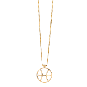 <p>Pisces Necklace available in rose gold, yellow gold and sterling silver</p>