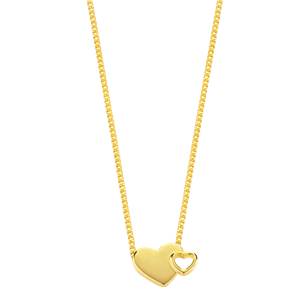 <p>&nbsp;EXPLODING HEARTS NECKLACE - SMALL</p>