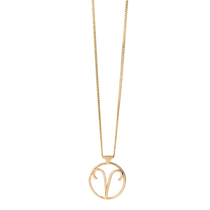 <p>Aries necklace available in rose gold, yellow gold and sterling silver.</p>