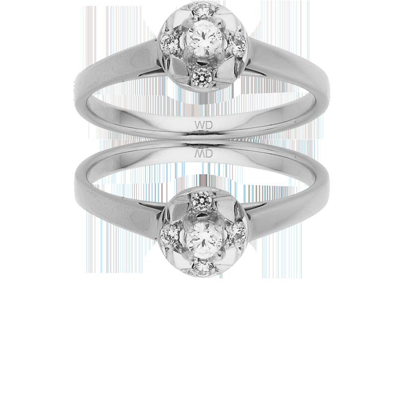 Diamond Engagement Ring – DD458