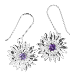 <p>Memento flower earrings</p>