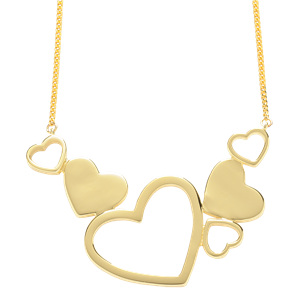 <p>Exploding Hearts Necklace</p>