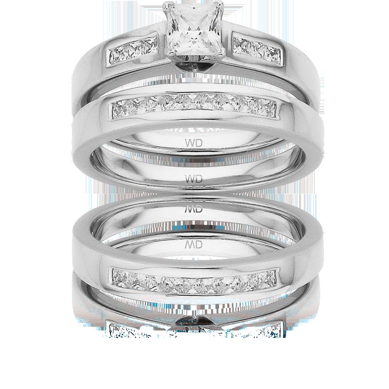 Diamond Engagement Ring – DD310 & DD357
