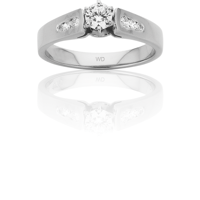 Diamond Engagement Ring – DD451