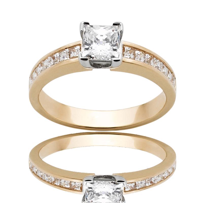 Diamond Engagement Ring – DD380W