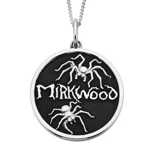 <p>Mirkwood Spider Pendant </p> <p>Bilbo awakens in Mirkwood to encounter the giant spiders. Brandishing his sword, he slashes his legs free and slays the first spider. Flush with victory, he gives his sword a name: Sting. </p> <p>Comes with official The Hobbit pouch</p>