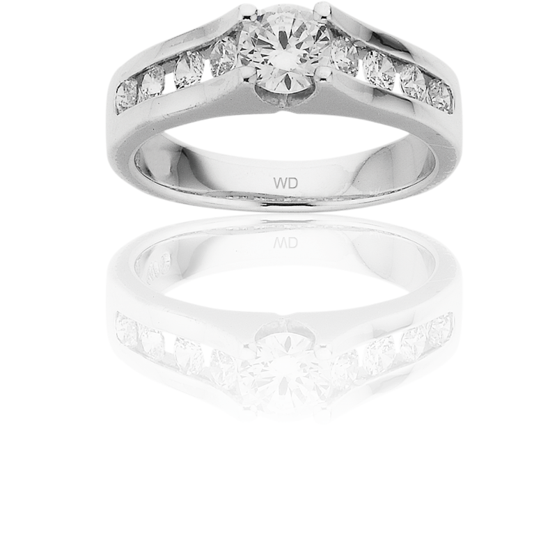 Diamond Engagement Ring – DD453