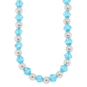 Bassano Italian Fashion - Blue Crystal Bracelet