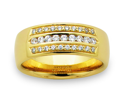 Women's Wedding Ring – AR492-C7.5 D