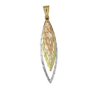 9 Carat Trigold Pendant