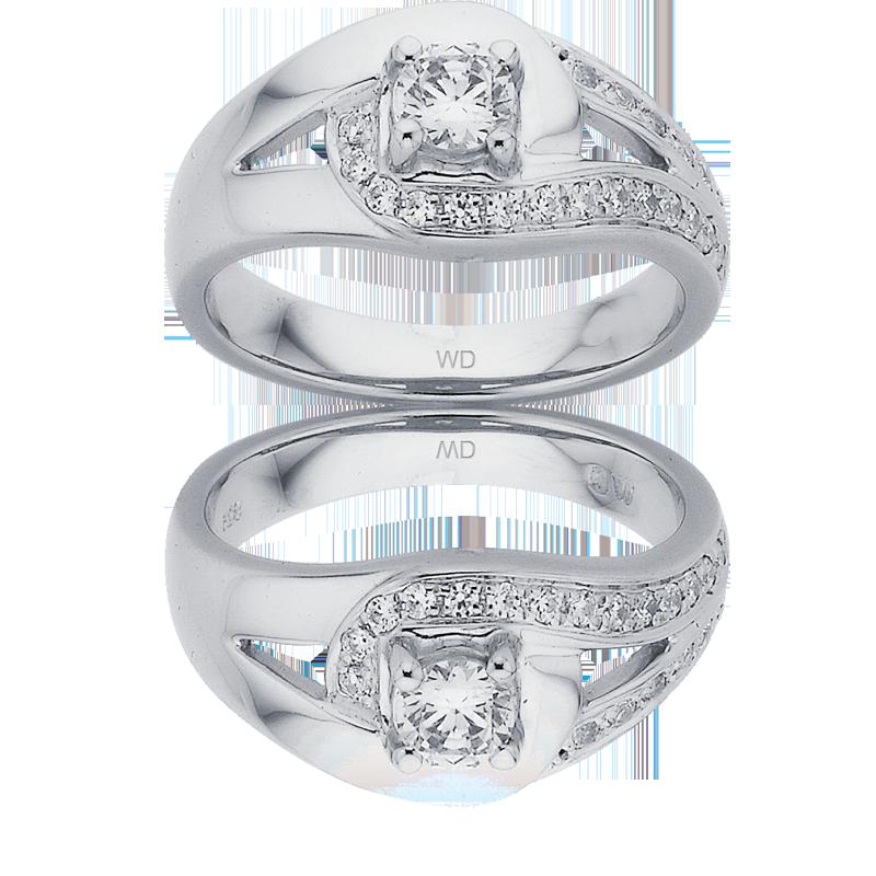Diamond Engagement Ring – DD433