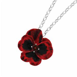 <p>ENAMEL FLOWER.5MM GARNET</p>