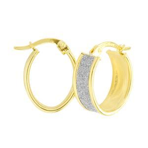 9 Carat Rose Gold Rhodium plated earrings