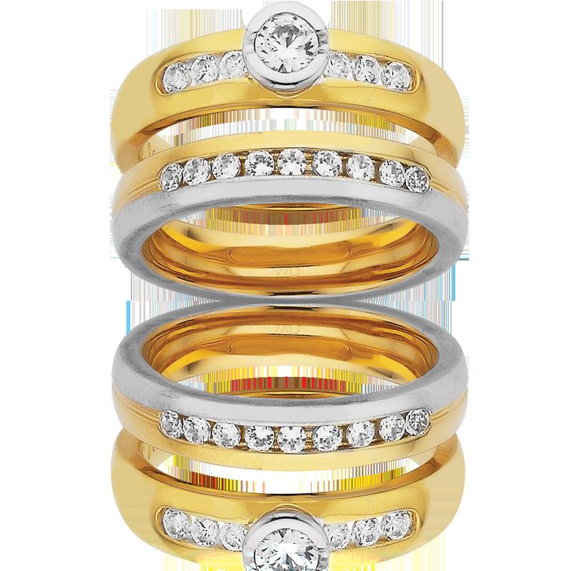 Diamond Engagement Ring – DD314W & AR523-C4 D