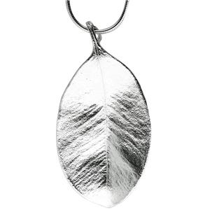<p>Medium springfire leaf pendant with 50cm chain and leaf</p>