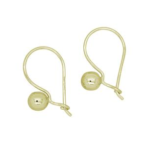 <p> Euroball Earrings Available in Sterling Silver or 9 Carat Yellow Gold</p>