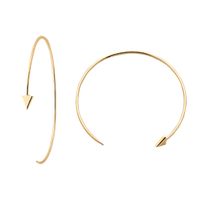 <p>Kinetic Hoop Earrings</p>