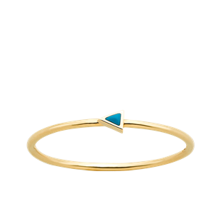 <p>Extra fine arrow ring</p>