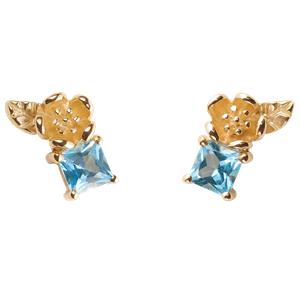 <p>&nbsp;&nbsp;Rock Garden Earrings - Topaz</p>
