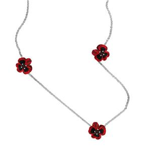 <p>3 FLOWERS NECKLACE</p>