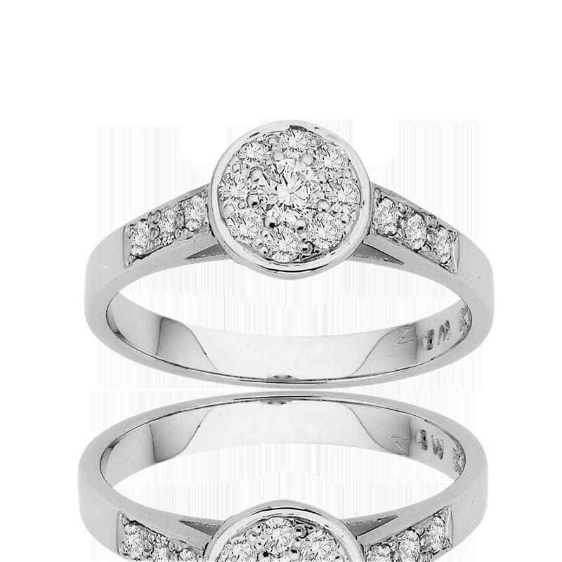 Diamond Engagement Ring – DD454