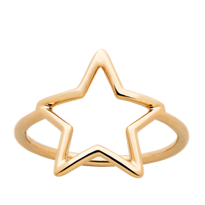 <p>Star outline ring</p>