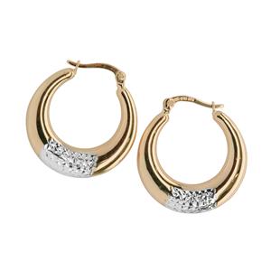 <p>Rhodium plated earrings</p>