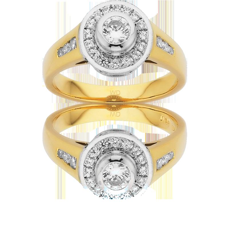 Diamond Engagement Ring – DD360W