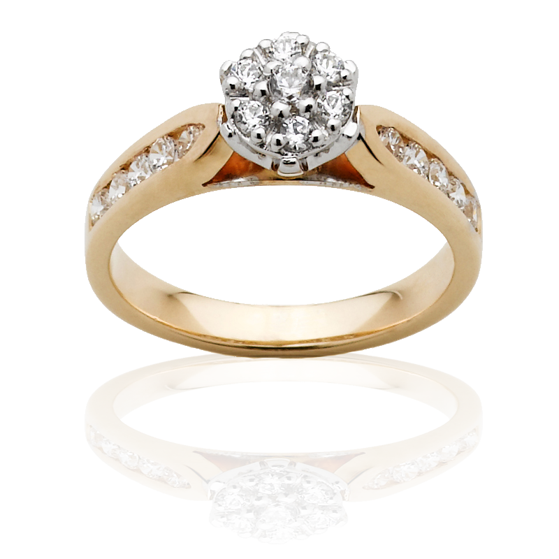 Diamond Engagement Ring – DD406W