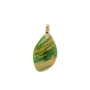 <p>Flower jade pendant</p>
