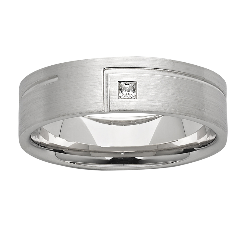 Men's Wedding Ring – AR732-C6 D