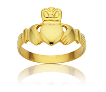 <p>The Irish Claddagh Ring - Symbol of Love, Loyalty &amp;&nbsp;Friendship</p>