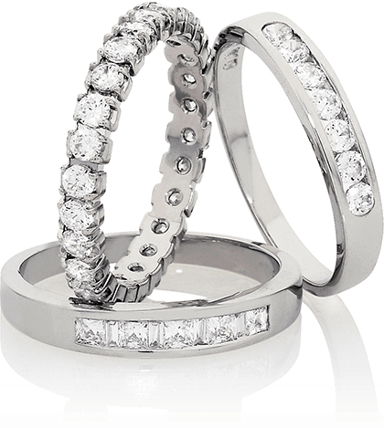 Large Diamond Rings
